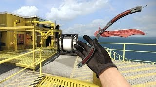 CS:GO - Butterfly Knife (Slaughter) Gameplay