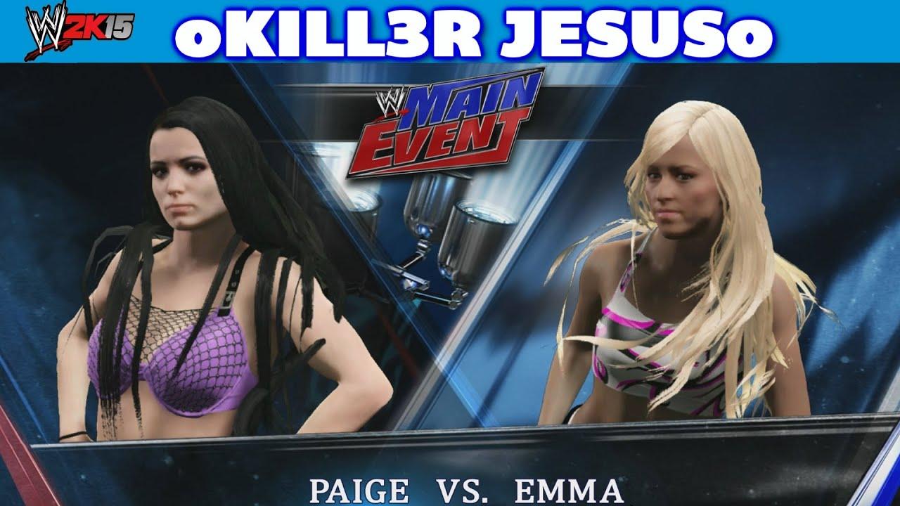 Paige vs Emma Full Match