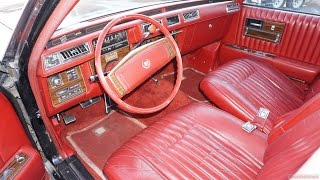 1977 Cadillac Seville Interior Review Classic Car Video ~ For Sale