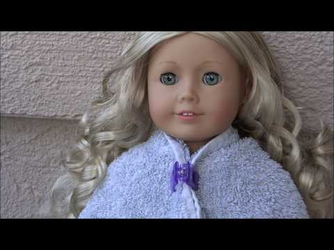 How to Curl your AG Dolls hair!