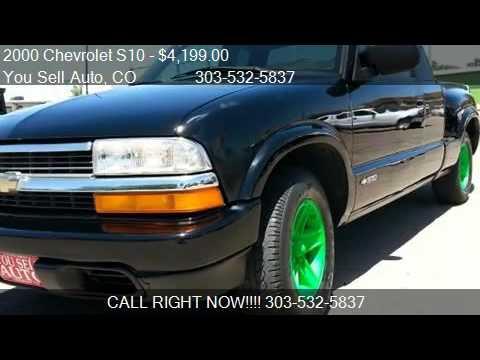 2000 Chevrolet S10 Ext Cab ls