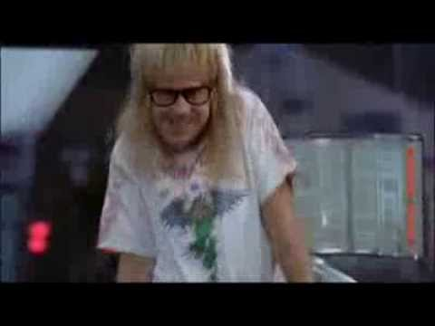 Garth Algar Dance Wayne S WorldGarth Algar Drums