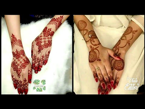 40 New Unique Mehndi Designs