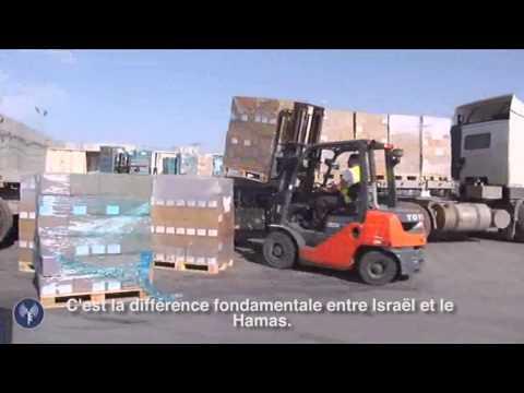 Tsahal assure le passage de marchandises d'Israël vers Gaza