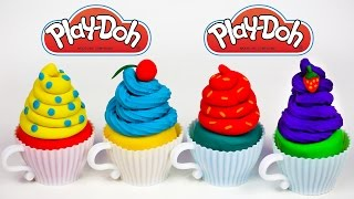Play Doh Cupcake Play Doh Food How to Make Play Doh Cupcake