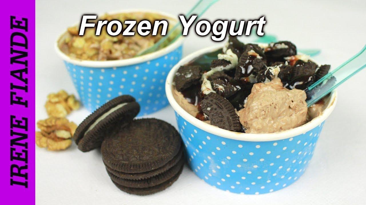 Frozen joghurt rezepte