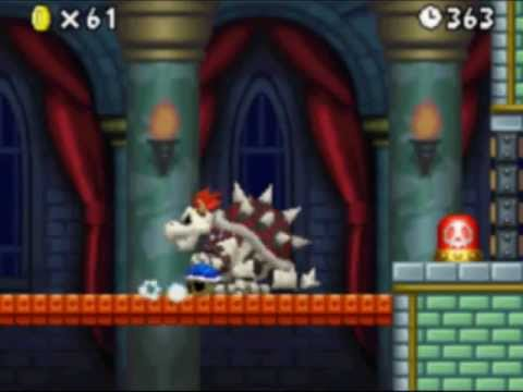Did You Know That The Blue Shell Works Against Dry Bowser