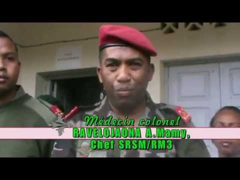 Madagascar-santé Militaire-circoncision De Masse video