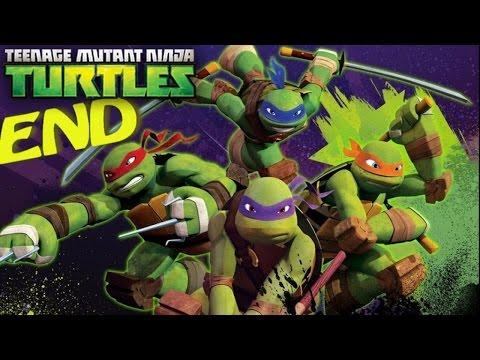 Nickelodeon Teenage Mutant Ninja Turtles (Wii) Part 6 The Shredder Fight