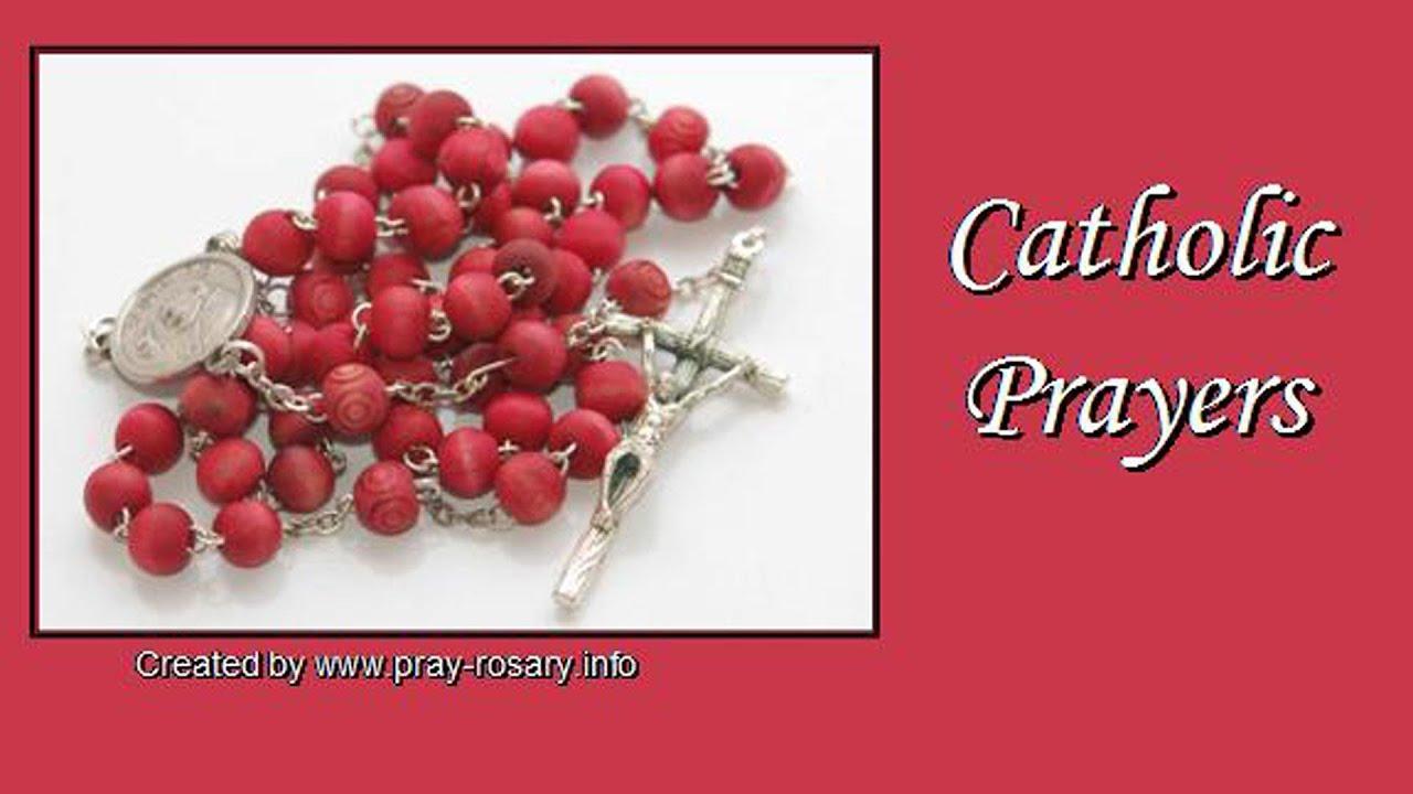 Catholic Prayer Wallpaper Catholic Prayers ╆
