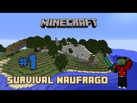 Minecraft | Mapa de Supervivencia - Survival Naufrago #1