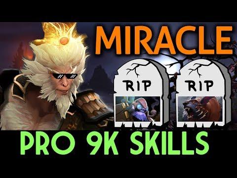 Miracle- Dota 2 [Monkey King] Pro 9k Skills - SoloMid