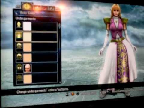 Soul Calibur V Create a Soul: Zelda Tutorial