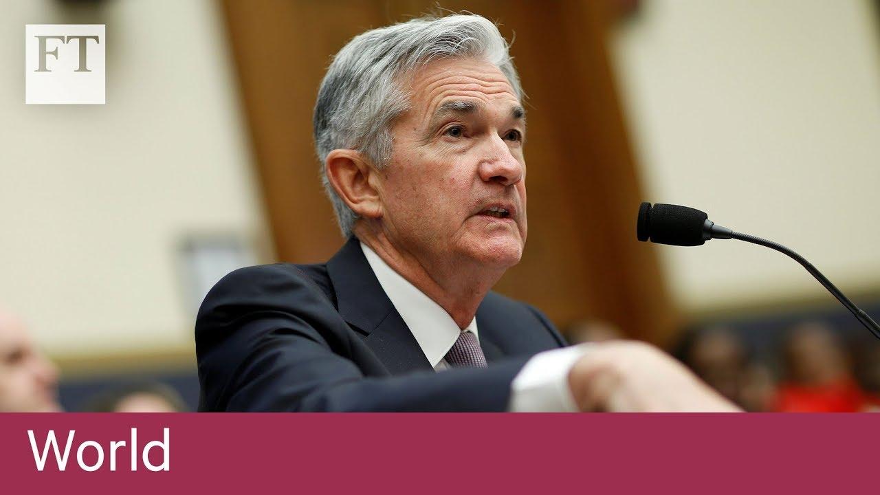 Powell strikes bullish note on the US outlook