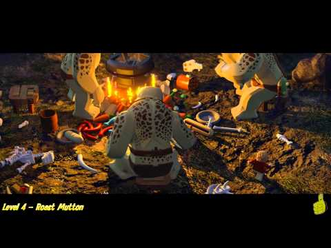 Lego The Hobbit: Level 4 - Roast Mutton - STORY - HTG