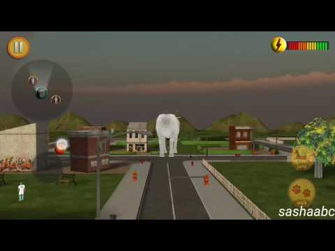 crazy goat in town 3D game rewiew android//