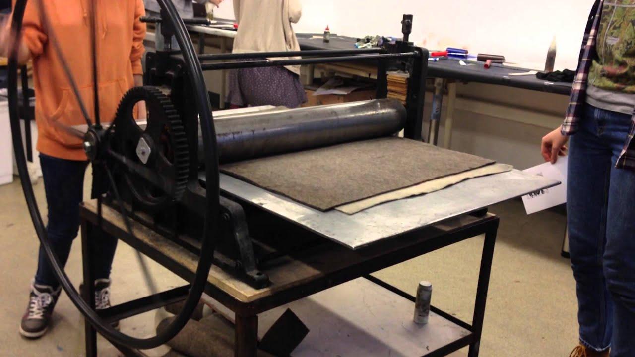 Печатный станок своими руками 770