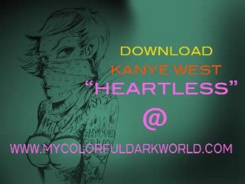 Kanye Heartless  Clean  With Download Link! video