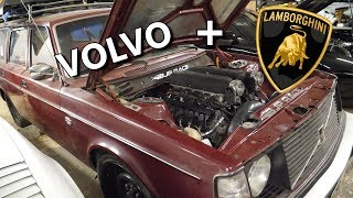 Volvo with Lamborghini engine project!