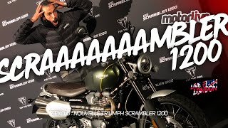 TRIUMPH SCRAMBLER 1200 2019 | LIVE FROM LONDON