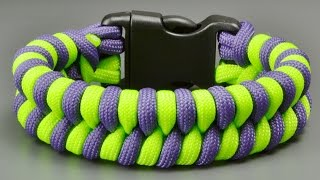 How to make a (Thick) Fishtail Paracord Bracelet