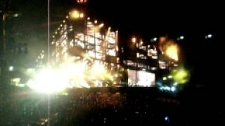 Hysteria Muse live concert Madrid 16-6-2o1o