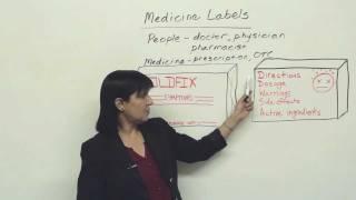 Practical English: Understanding Medicine Labels