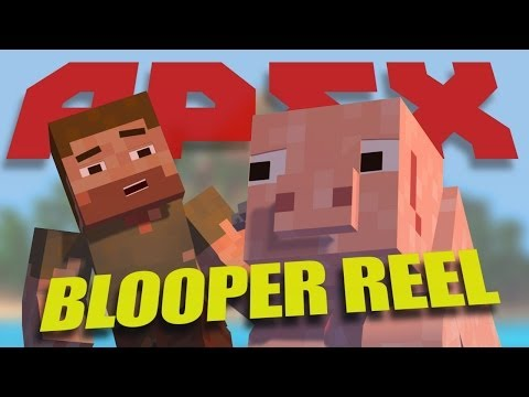 Minecraft Animation - Funny Apex Bloopers (Minecraft Blooper Animation)