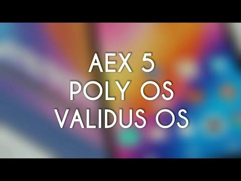Lenovo p2 custom ROM comparison AEX5 vs POLY OS vs VALIDUS OS review