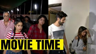 Janhvi Kapoor movie date with family, Kartik Aaryan's Mystery Girl REVEALED