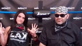 (Part 1) LAX Diamante and Konnan Interview at GFW/Impact Wrestling in Orlando July 2017