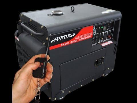 Aurora Generator Review - Silent Diesel Generator
