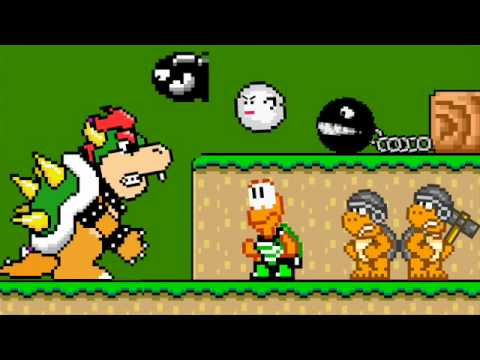 Bowser And His Minions video
