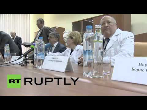 Russia: Health Minister announces drive to increase Ebola vaccine production