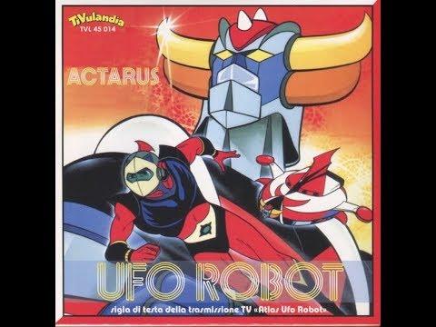 Ufo Robot ristampa 45 giri delle sigle TV originali! Canta Actarus