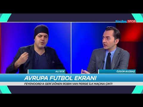 Robin van Persie'nin Fenerbahçe'den Feyenoord'a transferini Ali Ece ve Özgür Buzbaş değerlendirdi.