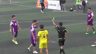2 tình huống trọng tài phải rút thẻ đỏ trong trận đấu giữa FC Chu Văn An vs Lương Hóa