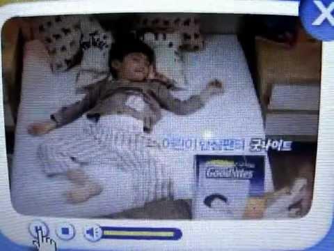 North Korean Huggies GoodNites TV Commercial Advert
