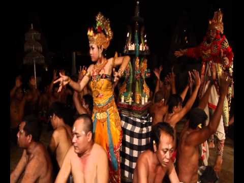 Kecak Dance Bali Part 2 - Destination Video by Asiatravel.com