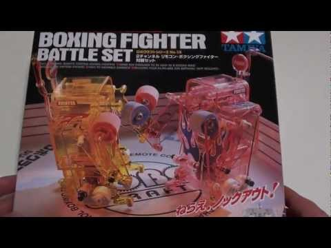 Boxing Fighter Battle Set Unboxed