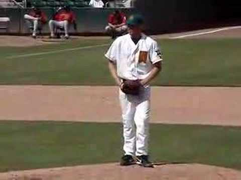 Jonathan Sanchez of the Fresno Grizzlies (San Francisco) Video