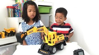 Mainan Mobil Beko Remote Control | RC Excavator in Action