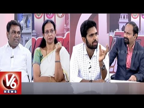 Special Debate On TJS Chief Kodandaram Seat | Good Morning Telangana | V6 News