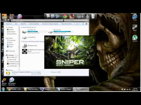 How to download Sniper Ghost Warrior free PC