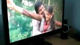 Download Silsila and Santhosh pandit's song make two guys crazy to broke their monitor.mp4 3Gp Mp4
