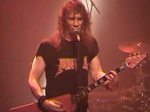 5 of 7 ANVIL live @ 2005 MONTREAL METAL FEST PAPER GENERAL
