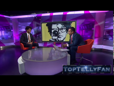 Richard Ayoade gives a rare interview (Channel 4 News, 21.10.14)