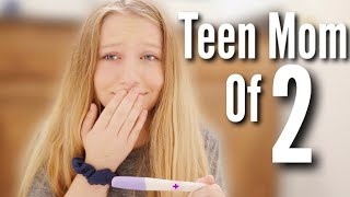 Finding Out I'm Pregnant *Again* At 18! Teen Mom Live Pregnancy Test