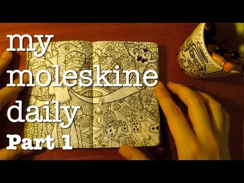 My Moleskine® Daily [ Part I ]