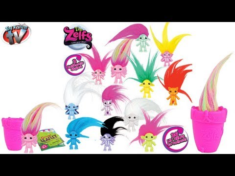 The Zelfs-Lil Zelfs Mini Figure Blind Pack Toy Review. Moose